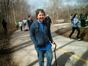 Erin Lovell April 26 2014 at last years Brain Tumour Spring Sprint in London Ont. Sadly she lost her battle on September 15. Always praying for a cure!! You will never EVER be forgotten Erin. You are so loved and will be throughout eternity!